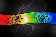 Abstraktionfärgdesign Arkivfoton