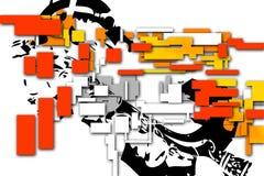 Abstraktionfärgdesign Royaltyfria Bilder