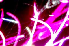 abstraktionlampa Arkivbild