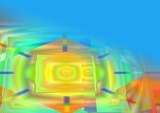 Abstraktions-bunter Hintergrund Stockbild
