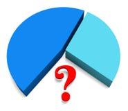 Abstraktions-Geschäfts-Diagrammillustration Stockfotografie