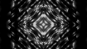 Abstraktionsschwarzweiss-Stern Lizenzfreie Stockbilder