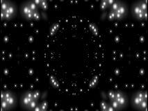 Abstraktionsschwarzweiss-Stern stock video