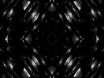 Abstraktionsschwarzweiss-Stern stock footage