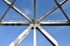 abstraktów mostów metal Obraz Royalty Free