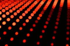 Abstrakty zamazujący prowadzący światła Obraz Stock