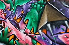 Abstrat graffiti Stock Images