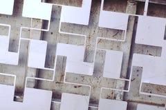 Abstrat metal plus symbol Stock Photos