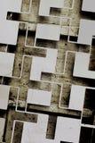 Abstrat metal plus symbol Stock Image