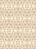 Abstrat vintage seamless pattern. Royalty Free Stock Images