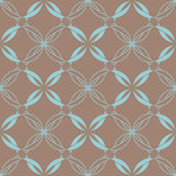 Abstrat vintage seamless pattern. Royalty Free Stock Image