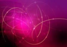 Abstrato refrigere ondas Imagem de Stock