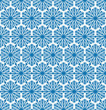 Abstrcat geometric texture Snow crystal seamless pattern Winter Stock Photo