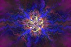 Abstrct Background. Digital Art. Technologies of fractal graphic stock illustration