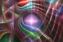 Abstrct Background. Digital Art. Technologies of fractal graphic vector illustration