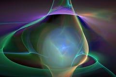 Abstrct Digital Artwork. Beautiful fantastic nebula. Abstrct Digital Artwork. The theme of the cosmos and the universe. Beautiful fantastic nebula on a dark Vector Illustration