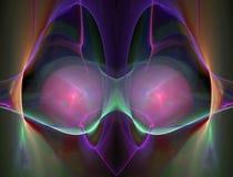 Abstrct Digital Artwork. Beautiful fantastic nebula. Abstrct Digital Artwork. The theme of the cosmos and the universe. Beautiful fantastic nebula on a dark Royalty Free Illustration