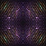 Abstrct-Hintergrund Tiefrote Rotation Digital-Art Technologien der Fractalgraphik lizenzfreie abbildung