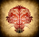 Abstrect tiger face Royalty Free Stock Photo