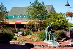 Abstreifenkrabben-Restaurant, Newport, RI Stockbilder