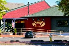 Abstreifenkrabben-Restaurant, Newport, RI Lizenzfreies Stockbild