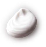 Abstrichcreme lokalisiert auf weißem Hintergrund Lizenzfreie Stockfotografie