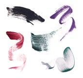 Abstrichfarbe der Wimperntusche Lizenzfreie Stockfotografie