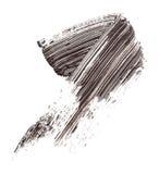 Abstrichfarbe der Wimperntusche Stockbild