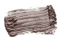 Abstrichfarbe der Wimperntusche Stockfoto