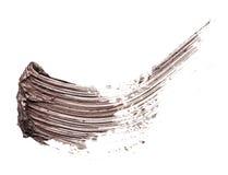 Abstrichfarbe der Wimperntusche Stockfotografie