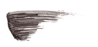 Abstrichfarbe der Wimperntusche Lizenzfreie Stockfotos