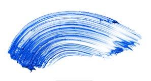 Abstrichfarbe der Wimperntusche Lizenzfreies Stockbild