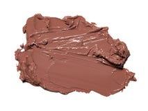Abstrichfarbe von Kosmetik- und Schönheitsprodukten Bilden Sie Zubehör Lizenzfreie Stockfotografie