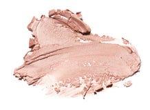 Abstrichfarbe von Kosmetik- und Schönheitsprodukten Bilden Sie Zubehör Lizenzfreie Stockfotos