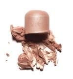Abstrichfarbe von Kosmetik- und Schönheitsprodukten Bilden Sie Zubehör Lizenzfreies Stockfoto