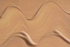 Abstrichfarbe von kosmetischen Produkten Stockbilder