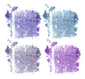 Abstrichfarbe von kosmetischen Produkten Stockfotos