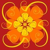 Absttract wzoru ornamenty, koloru wektor Obraz Royalty Free