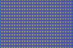 Absttraktny bakgrund av den lilla objektgaetelien på en blå bakgrund Royaltyfri Bild