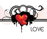 Absyract love background Royalty Free Stock Image