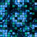 Absytact background. Seamless tiles background with green and blue blocks Royalty Free Stock Image