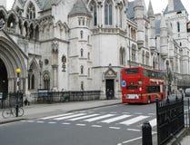 absztyfikuje sprawiedliwość London królewski obrazy stock