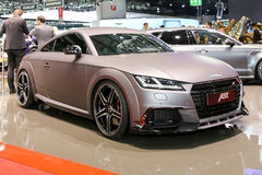2015 ABT Sportline Audi TT. Geneva, Switzerland - March 4, 2015: 2015 ABT Sportline Audi TT presented the 85th International Geneva Motor Show Stock Images