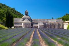 Abtei auf Französisch Senanque Lizenzfreies Stockfoto