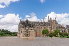 Abtei Batalha Santa Maria da Vitoria Dominican, Portugal Stockbild