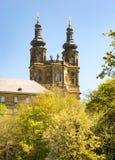 Abtei Benediktiner Monatery Banz Stockfotografie