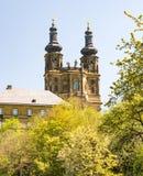 Abtei Benediktiner Monatery Banz Stockfoto