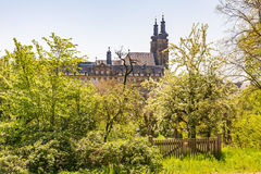 Abtei Benediktiner Monatery Banz Lizenzfreies Stockbild