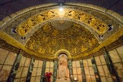 Abtei des Dormition in Jerusalem Lizenzfreie Stockfotos
