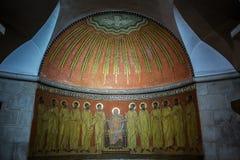 Abtei des Dormition in Jerusalem Lizenzfreies Stockbild